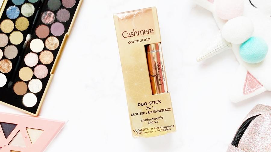 Cashmere • Conturing Duo Stick 2w1, Bronzer i rozświetlacz, podwójny sztyft do modelowania twarzy 2w1