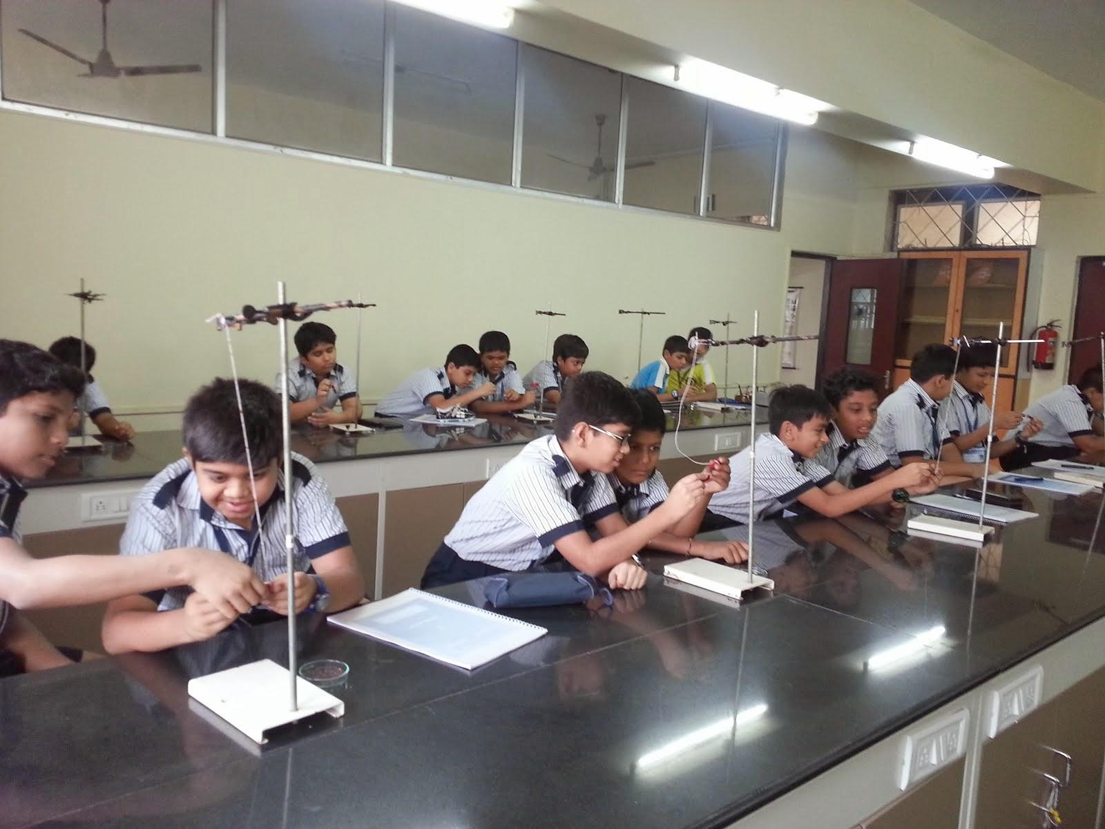 The Rustomjee Cambridge Diaries Grade 6 Physics