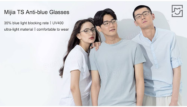 Xiaomi New Lightweight Protective Glasses Keep Harmful Blue Light Away From Your Eyes