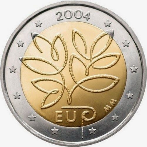 2 euro Finland 2004, Enlargement of the European Union in 2004