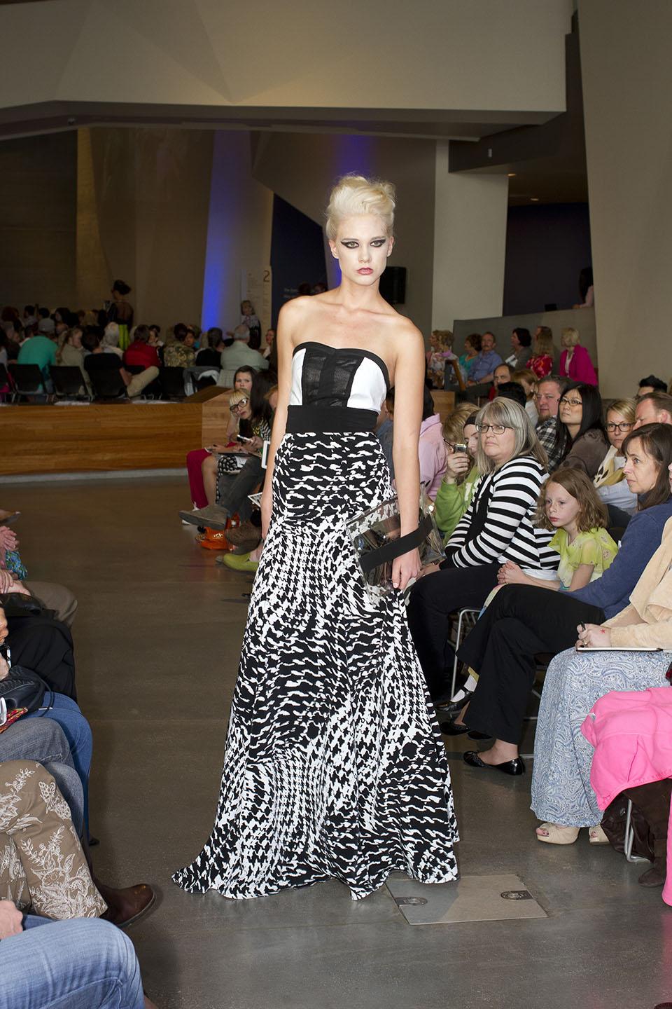 Slcc Fashion Institute Holds Native American Inspired Raw Couture Fashion Show