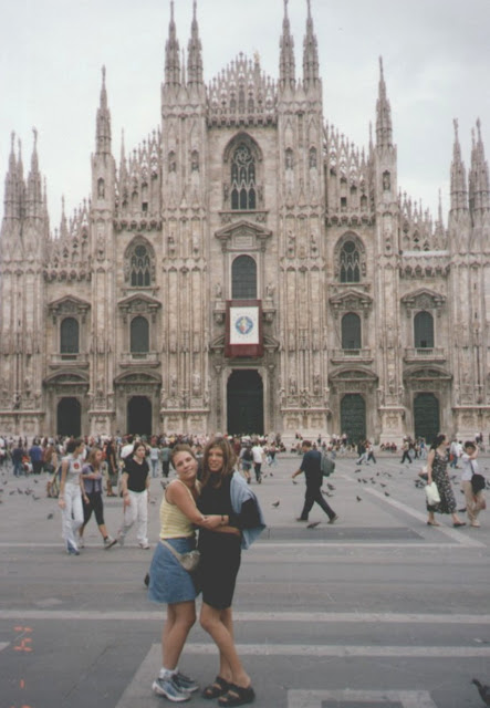Prima oara la Milano, Italia