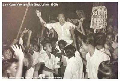 Lee Kuan Yee berhasil dipercaya