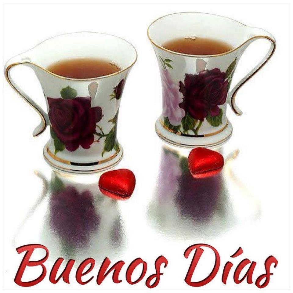 Tazas de café Buenos Días