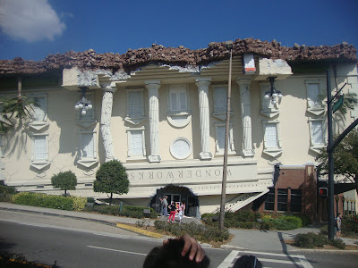 O museu interativo Wonder Works, na International Drive