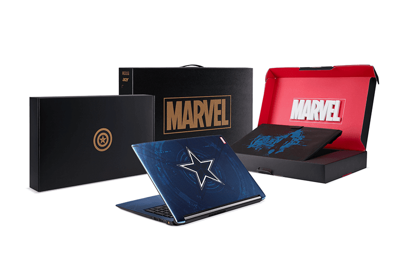 Acer launches special Avengers themed notebooks