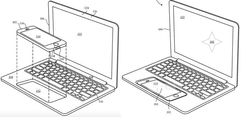 newgersy/ Could your iPhone supplant your tablet? Apple toys with dockable telephone that transforms into PC