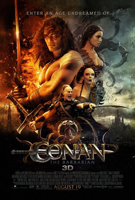 Póster final de Conan el barbáro