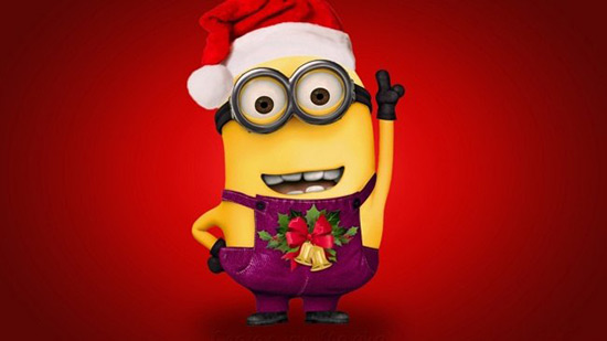 Funny Minion Christmas quotes, funny christmas pictures of minions