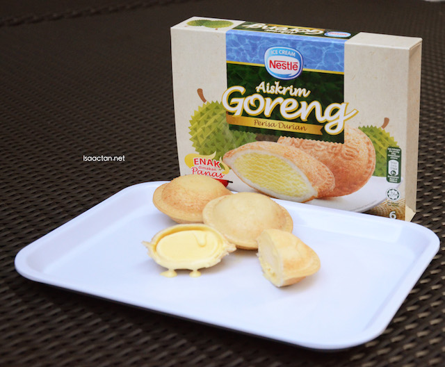 Nestle Ice Cream Reveals New Limited Edition Aiskrim Goreng Durian Flavour