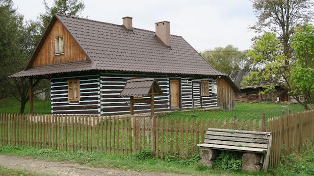 Beskid Niski architektura drewniana