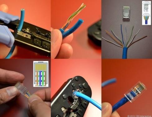 Cara membuat kabel utp