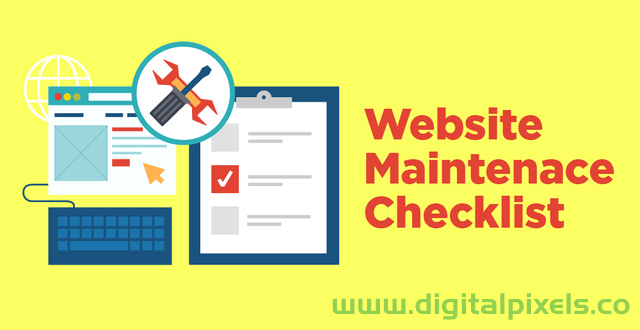 WordPress website maintenance checklist ~ WordPress website maintenance checklist