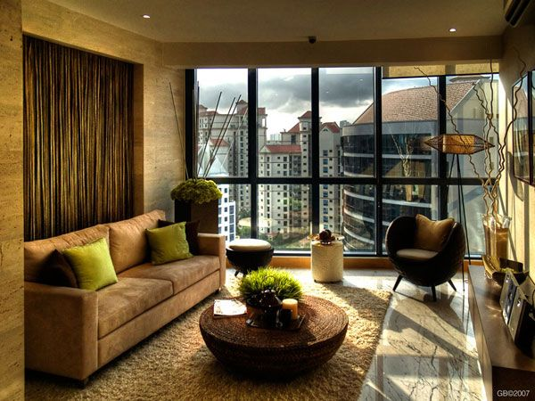 Modern Living Room Decorating Design Ideas 2011