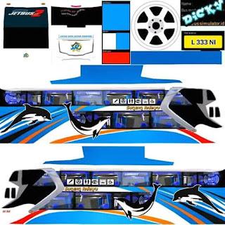 Dowmload Livery Bus Sugeng Rahayu