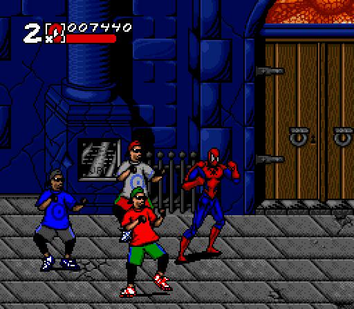 Super Adventures In Gaming Spider Man Venom Maximum Carnage Snes