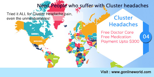 Join us in Ontario and Earn USD 300 Cluster Headaches (NewMarket Ontario)