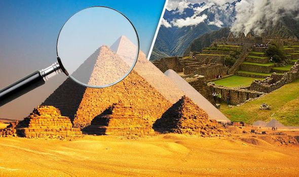 Egypt, Giza, Pyramid, Peru