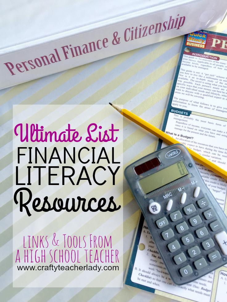 Crafty Teacher Lady Teaching Financial Literacy Part 3 Lesson Ideas