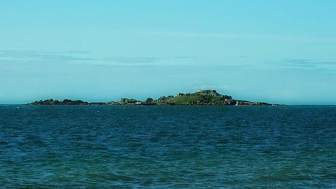 Ilha de Araçatuba, em Palhoça