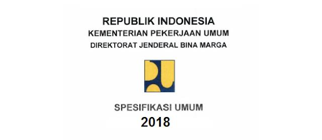 jalan, spesifikasi, 2018, terbaru, bina marga, SNI