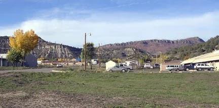 Η κωμόπολη Dulce στην Πολιτεία του Νέου Μεξικού