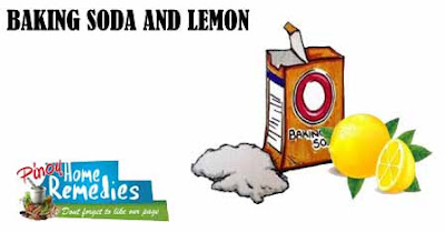 Home Remedies For Gas: Baking Soda and Lemon