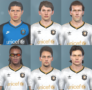 PES 2019 Classic Facepack by Hawke