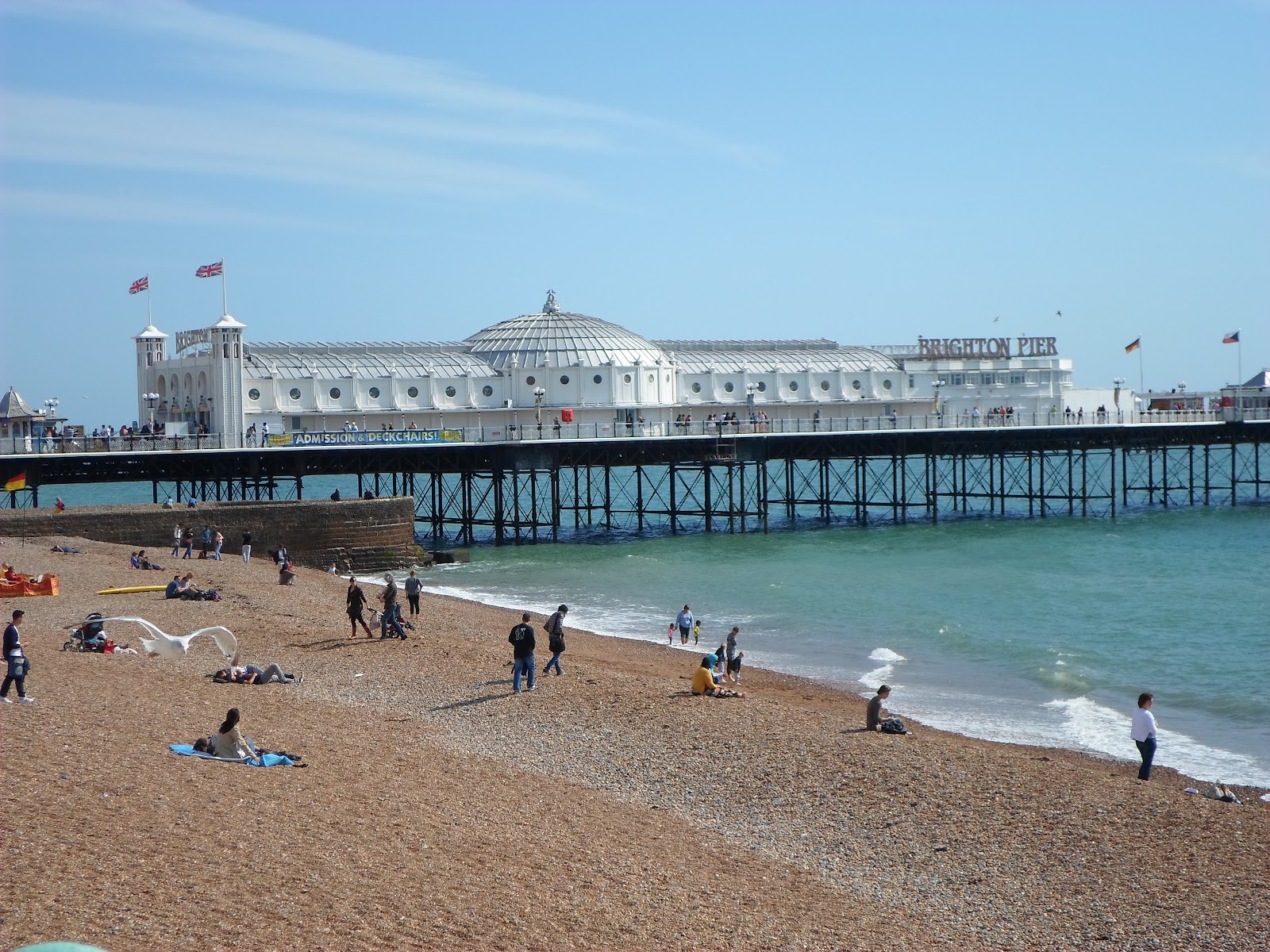 Brighton UK Beach seaside