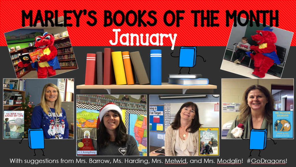 7a6c6d2830cf13 Marlin Literacy  Marley s Books of the Month (January)