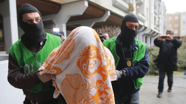Ataque anti-terror contra suspeitos islâmicos em Berlim