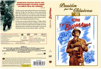 Objetivo: Birmania | 1945 | Objective Burma! - cover, caratula, dvd