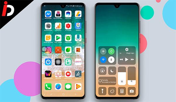 CONVIERTE TU ANDROID EN UN IPHONE 2019 IOS 12