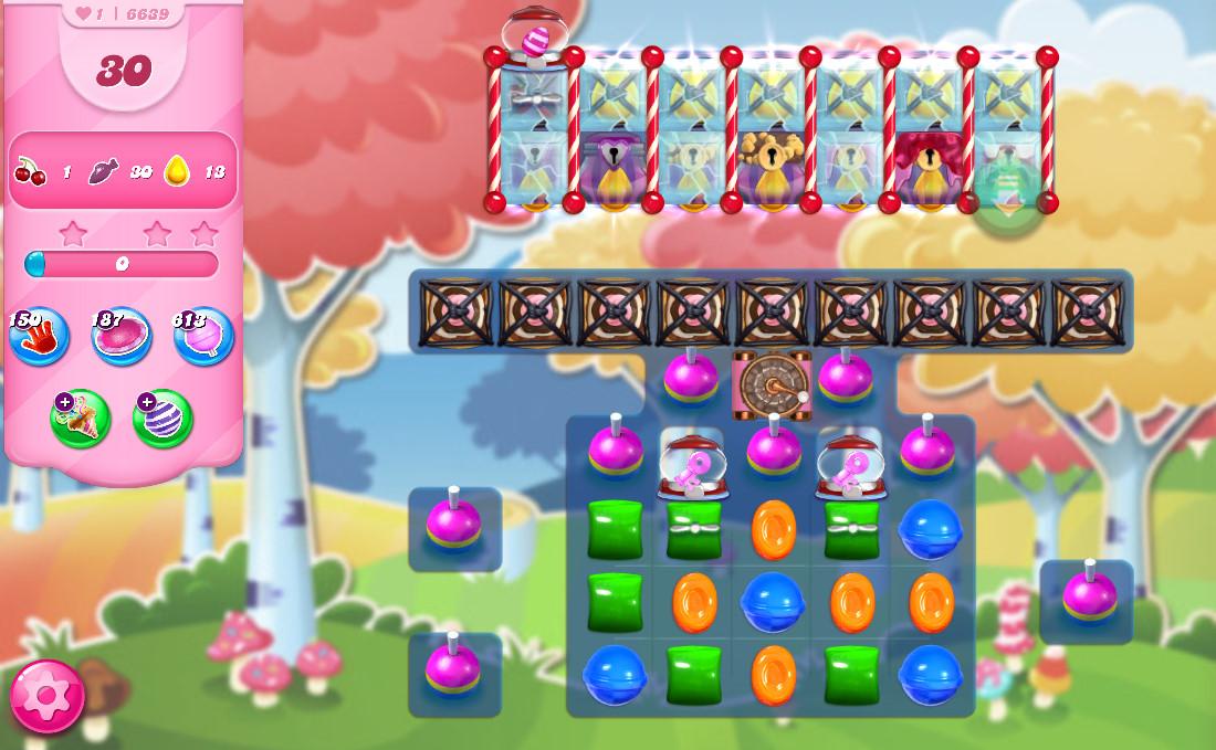 Candy Crush Saga level 6639