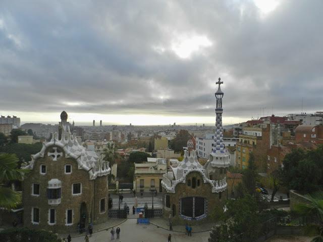 Sessão Pipoca: filmes para se apaixonar por Barcelona - a cidade vista do Parc Guell