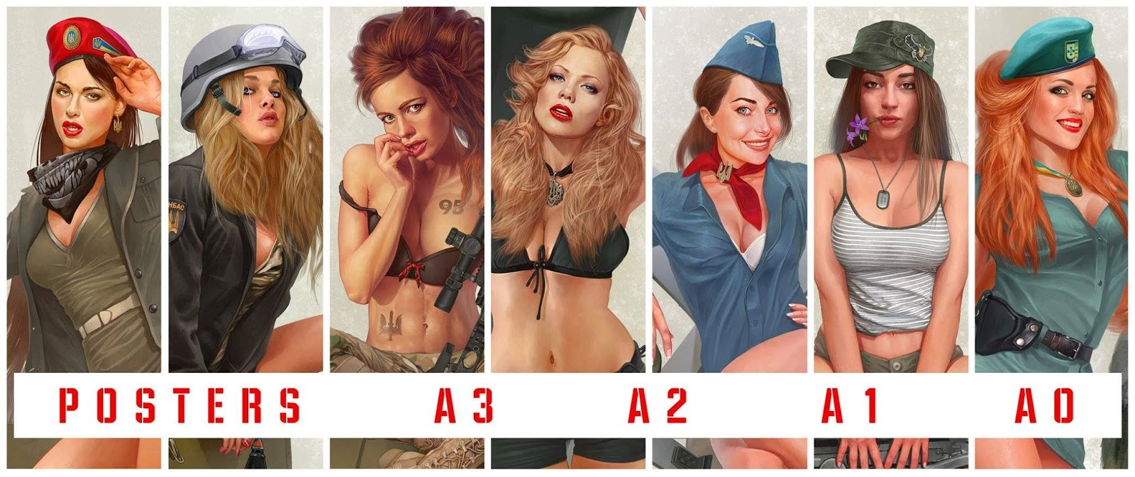 posters pin up