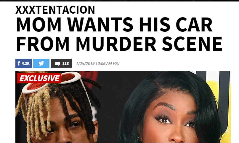 The Mindless Freaks: Recent XXXTentacion Stories in the media-Drake