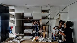 foto de espelho em 3d sob medida