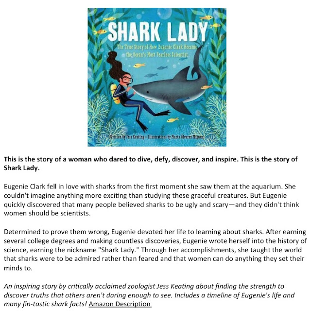 Shark Week Book Recommendations - Teachers Who Read