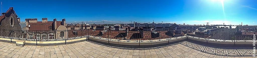 Крыша в Питере