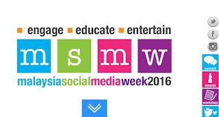Senarai Blog Pemenang Anugerah MSMW2016