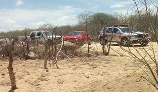 Homem é encontrado morto na zona rural de Baraúna