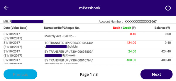 how to generate pin for sbi mpassbook in sbi anywhere app