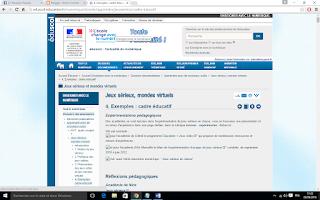 http://eduscol.education.fr/numerique/dossier/apprendre/jeuxserieux/cadre-educatif