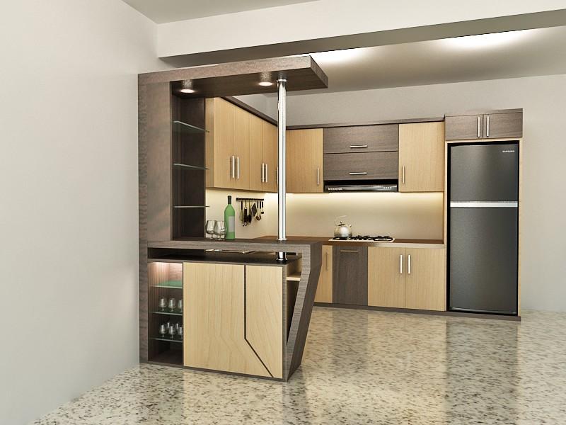 design interior dapur rumah minimalis
