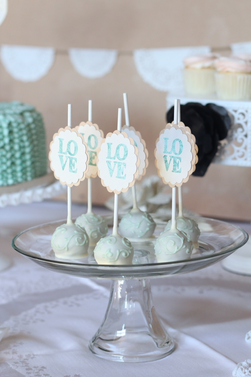 wedding cake pop decorations sweet on you designer cups amp cakes 23521