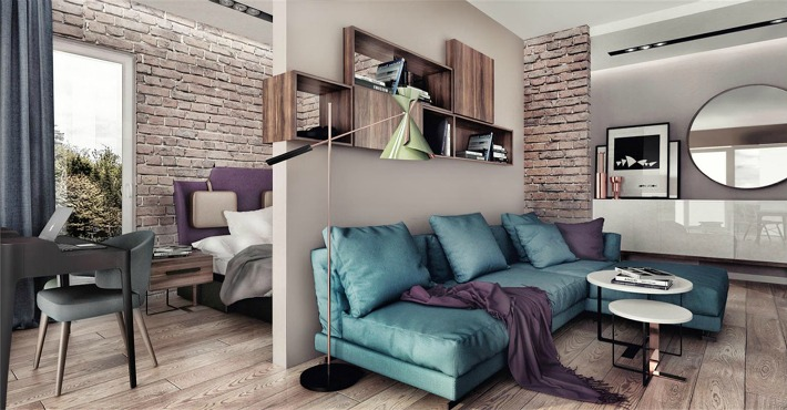 Proyecto para un apartamento de 35M2