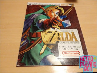 zelda ocarina of time Nintendo 64 guia oficial
