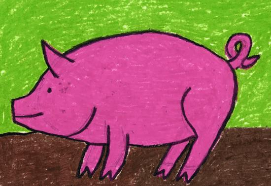 pig painting tutorial