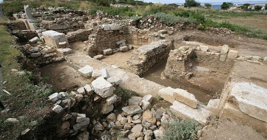 work resumes in ancient parion